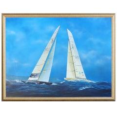 Gabriel Duarte Argentine Artist Nautical Painting