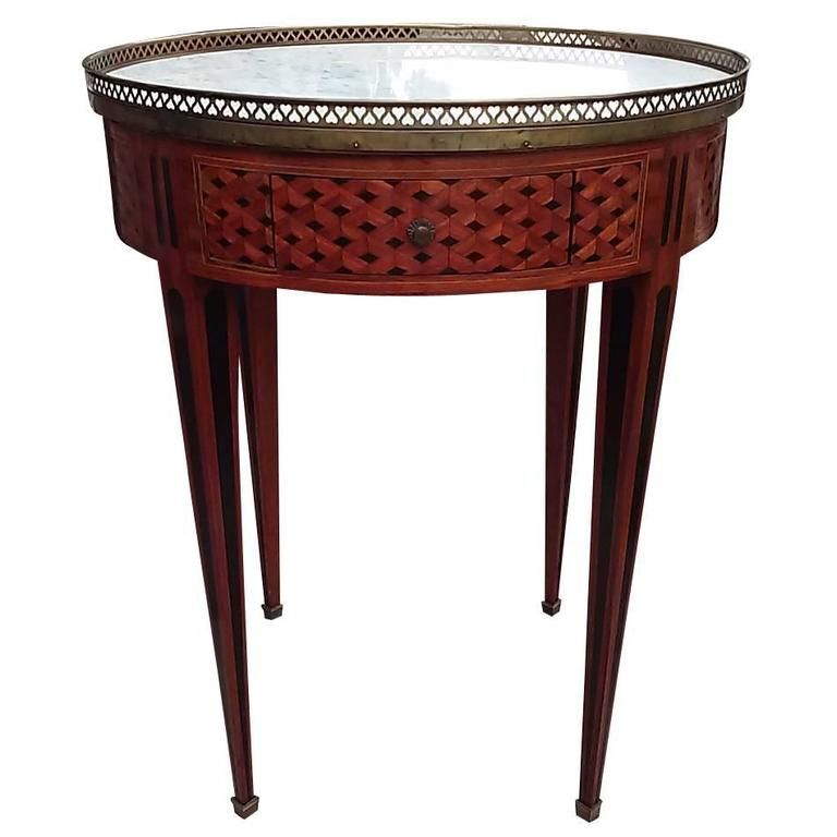 Early 20th Century French Louis Xv Style Bouilotte Table