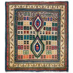 Vintage Persian Gabbeh Rug