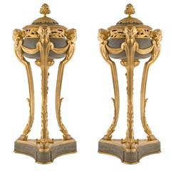 French 19th Century Louis XVI Style Belle Époque Period Brûle Parfums