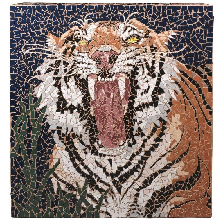 Mosaic Tiger Coffee Table