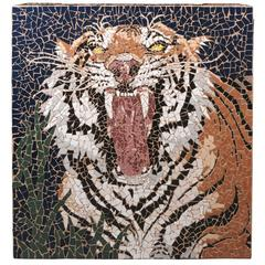 Mosaic Tiger Coffee Table