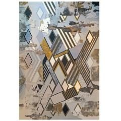 Geometric Rug by Birgit Israel, Limited Edition