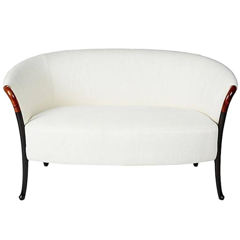 Giorgetti Progetti Loveseat Sofa in Fabric