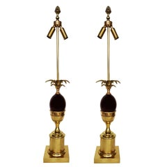 Pair of Maison Charles Table Lamps