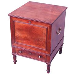 Antique Regency Mahogany Cellarette