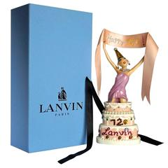 "Lanvin ""120th Anniversary"" Porcelain Figurines"