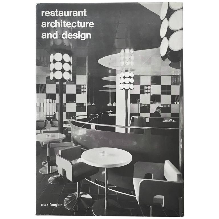 Restaurant Architecture and Design by Max Fengler, 1971 For Sale
