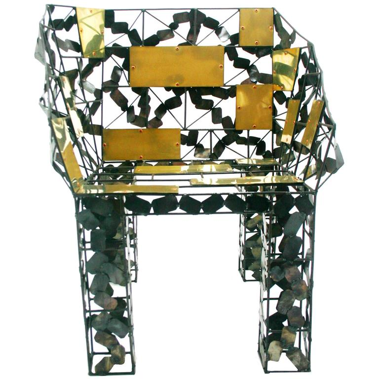 """Tomar"", Functional Art Chair by Baltasar Portillo"