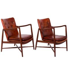 Pair of Finn Juhl Chairs for Bovirke, 1946