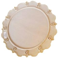 White Marble Server from India