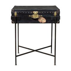 Antique Louis Vuitton 1910 Luggage Bar or Side Table