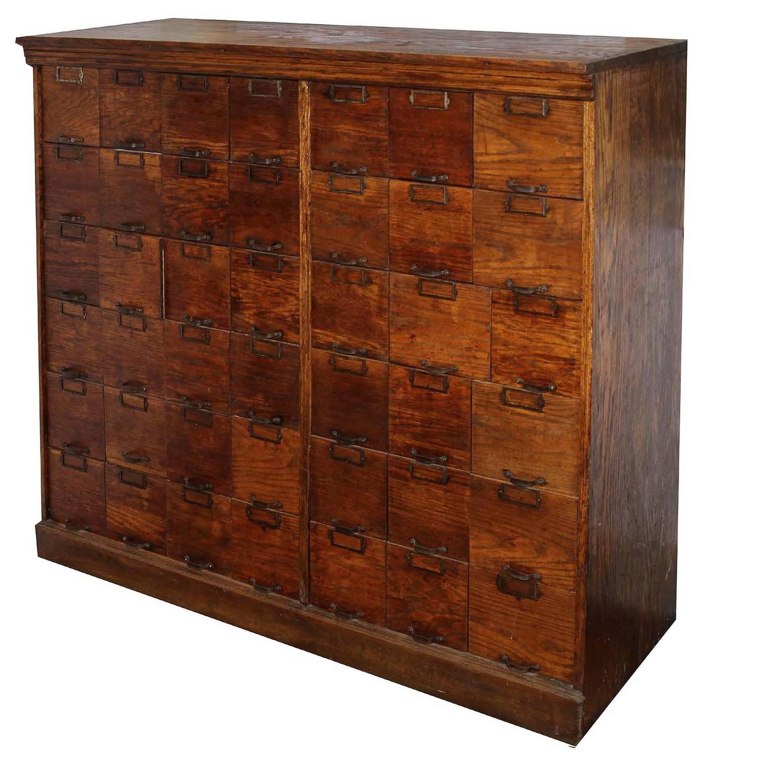 Apothecary Furniture For Sale: 19th Century Store Cabinet For Sale At 1stdibs
