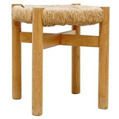Charlotte Perriand Stool for Meribel, circa 1950