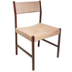 Vintage 1960s Brazilian Mid-Century Jacaranda Dining Chair