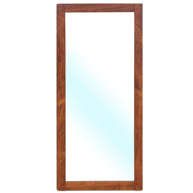 Mid Century Modern Mirror In Rio Rosewood At 1stdibs