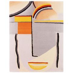 """Jawlensky """"Visage Abstrait"""" tapestry, France"""