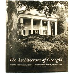 Architecture of Georgia by Frederick Nichols Signed First Edition