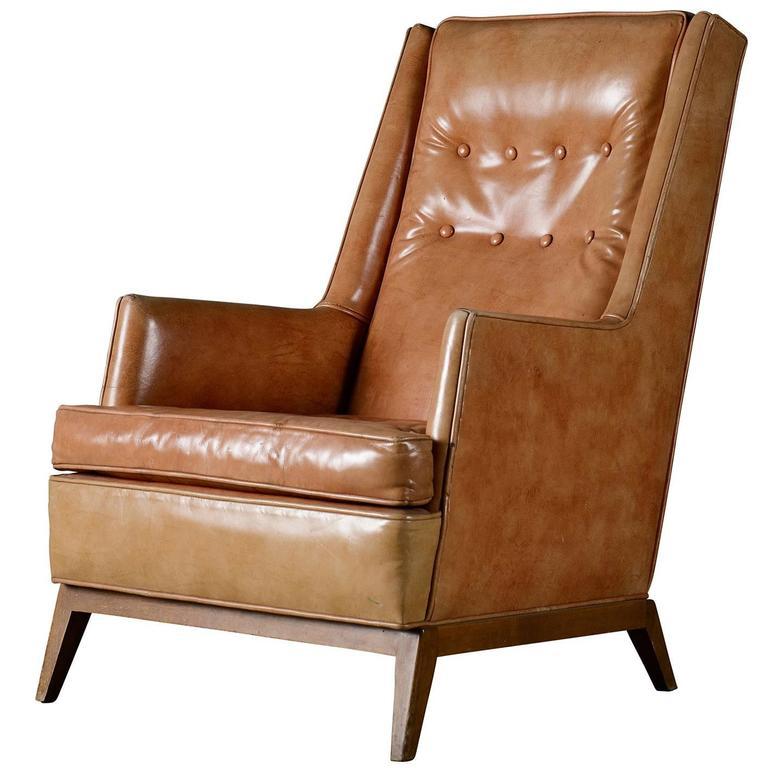 T.H. Robsjohn Gibbings Lounge Chair