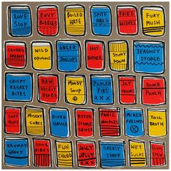 '32 Flavours' Pop Art Painting by Alan Fears