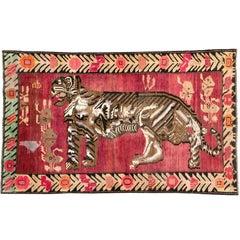 Vintage Russian Karabagh Carpet