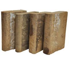 Early 20th Century Collection of Four Concrete Books