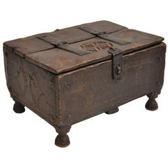 Late 19th Century Moroccan Footed Box