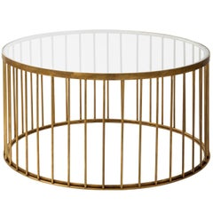 Brass Cage Coffee Table