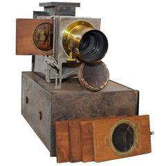 Antique Magic Lantern Projector