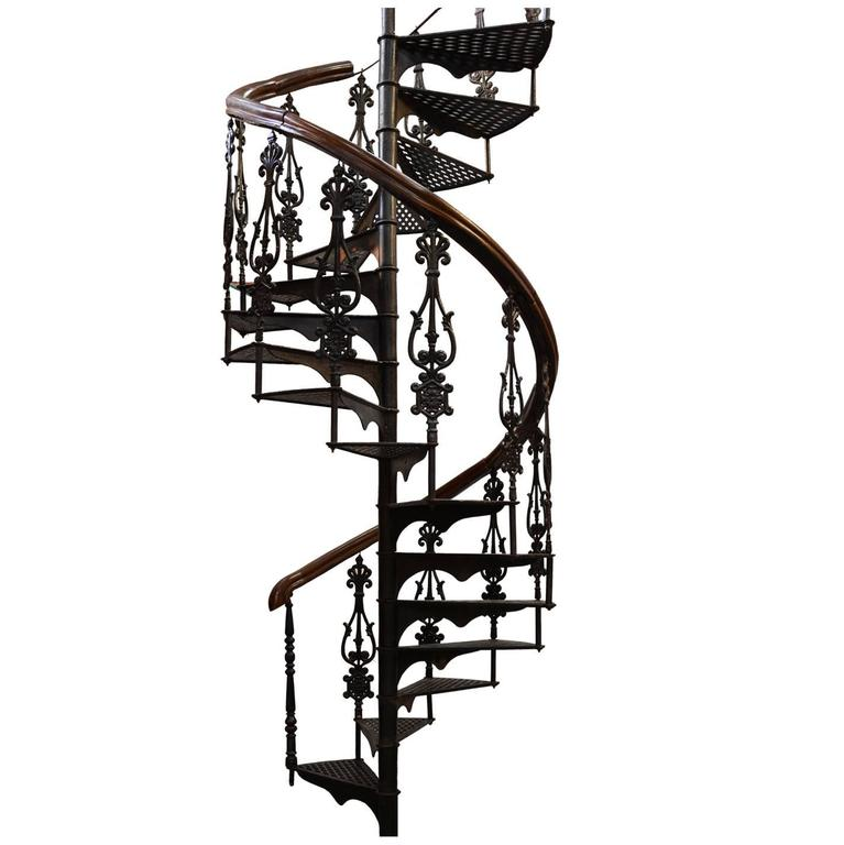 Antique Victorian Spiral Staircase At 1stdibs