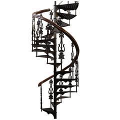 Antique Victorian Spiral Staircase