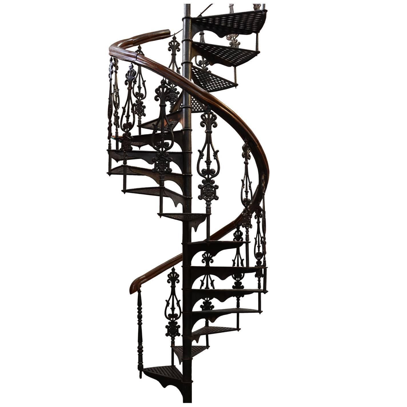 Antique Victorian Spiral Staircase For Sale At 1stdibs