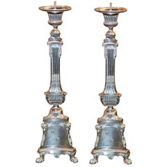 Pair of 19th Century French Altar Sticks