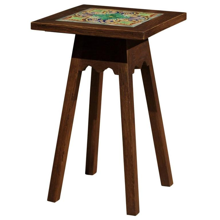 Arts and crafts style table for sale at 1stdibs for Arts and crafts style table