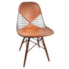 Rare Charles Eames PKW-2 Dowel Leg Swivel Chair