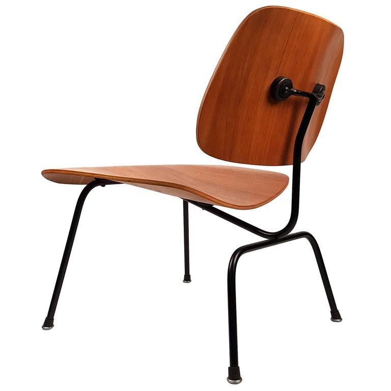 charles eames lcm chair for herman miller 1950s walnut. Black Bedroom Furniture Sets. Home Design Ideas