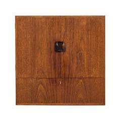 Tove & Edvard Kindt-Larsen Small Cabinet by Gustav Bertelsen in Denmark