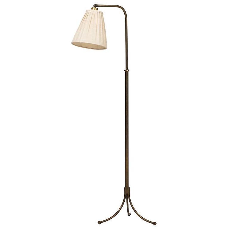 Josef frank floor lamp model 1842 by svenskt tenn in sweden for sale