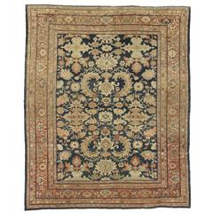 Antique Persian Sultanabad Rug with Traditional Modern Style