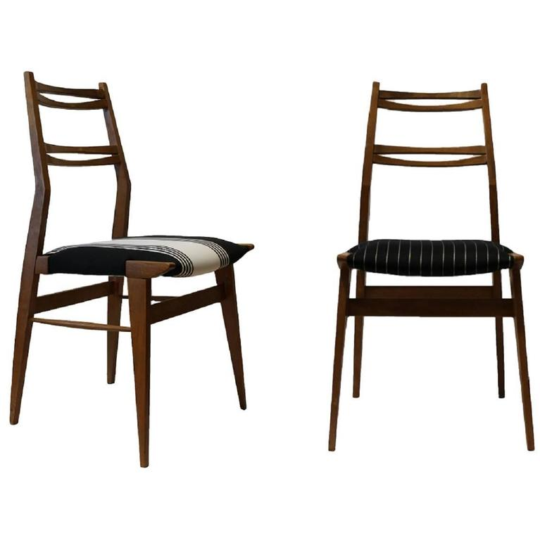 Four Ash Chairs in the Manner of Carlo de Carli 1