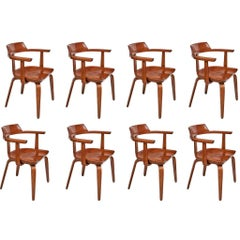 Set of Eight Dining Chairs by Walter Gropius