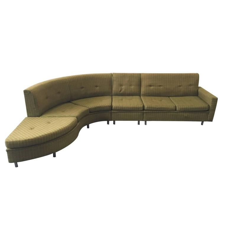 Mid Century Sectional Sofa 1950s 1960s At 1stdibs