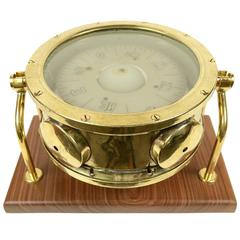 Nautical Compass English Manufacture of the Early 1900s