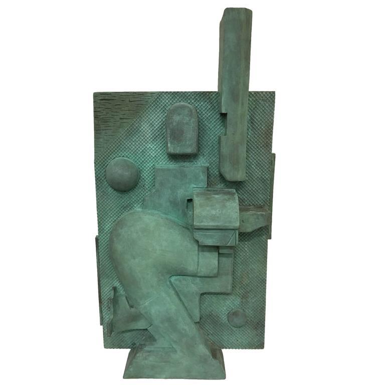 Bronze Cast Wall Sculpture by Artist Michael Walsh