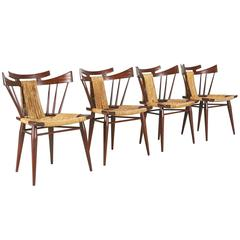 """Edmund J. Spence """"Continental-American Collection"""" Dining Chairs for Industria M"""