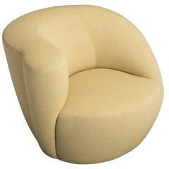 """Vladimir Kagan """"Nautilus"""" Lounge Chair, circa 1990"""