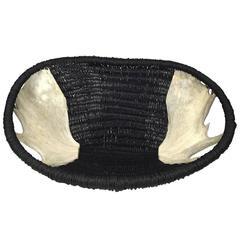 Custom Moose Horn Basket by Dax Savage