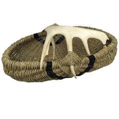 Custom Deer Antler Basket by Dax Savage