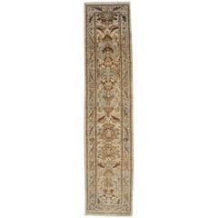 21st Century Modern Beige, Blue Persian Sultanabad Carpet