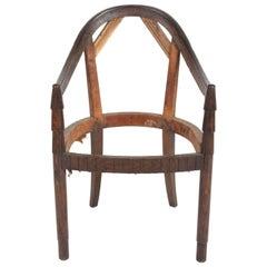 Nice French Art Deco Armchair Frame